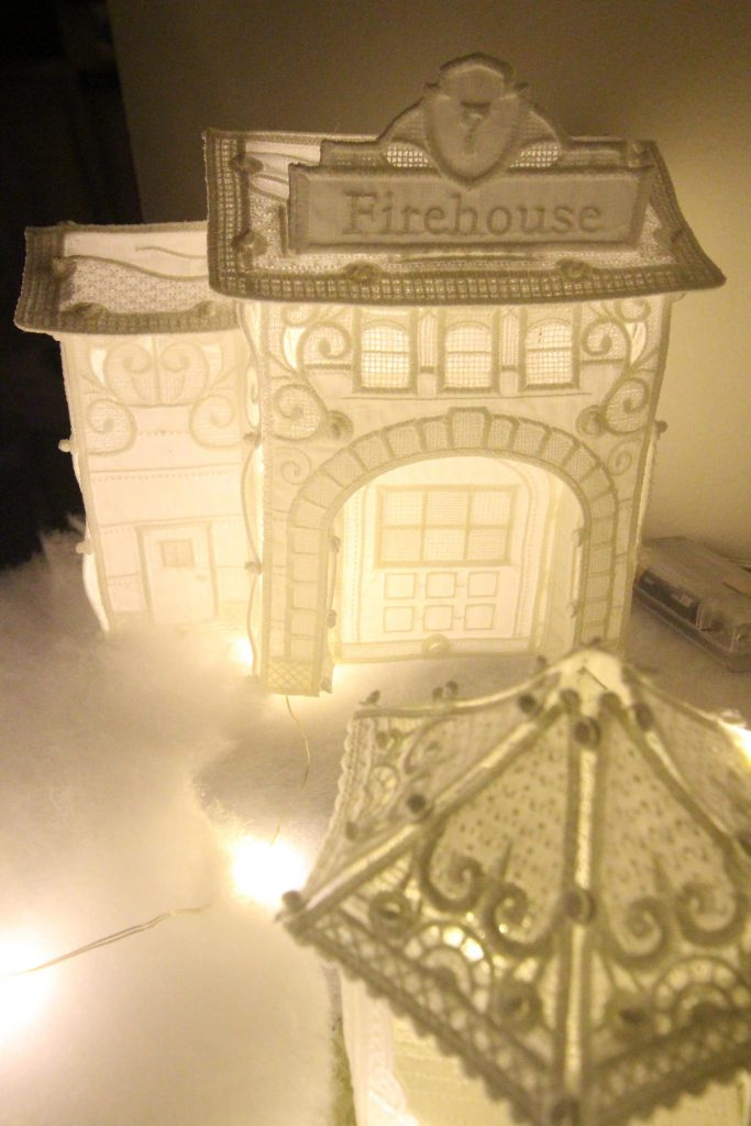 OESD FreeStanding Lace Firehouse