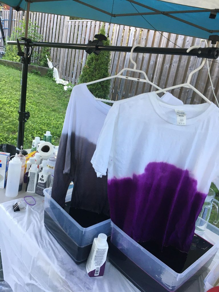 Ombre Tie Dyed Shirts