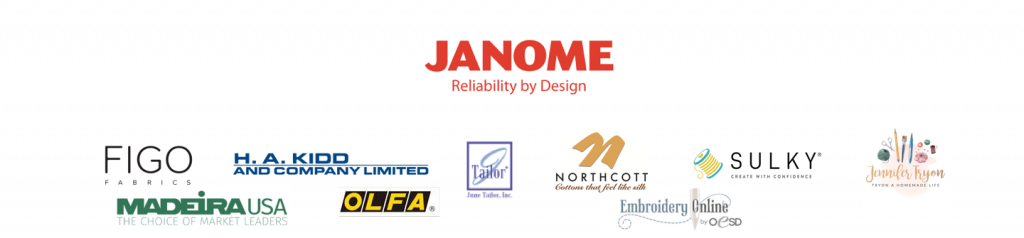 Janome Virtual Sewing Event