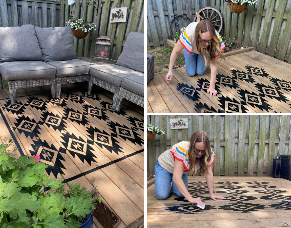 outdoor vinyl carpet diy
