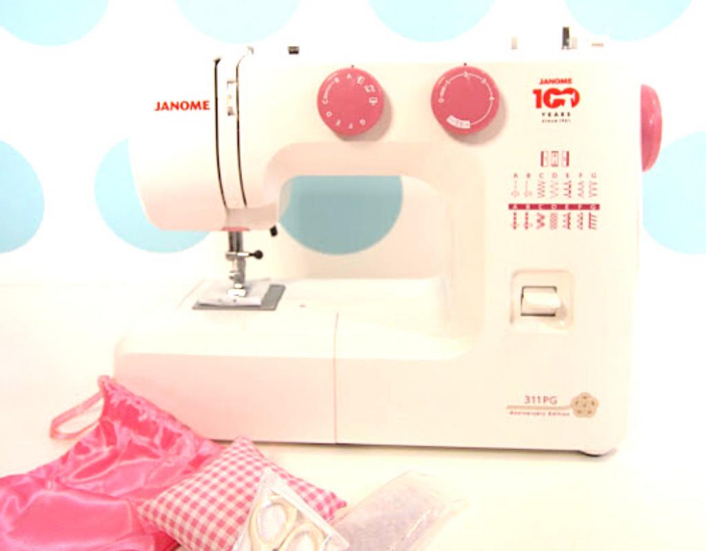 Janome 100th Anniversary Sewing Machine 311P-