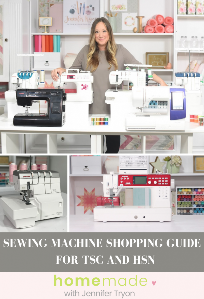 Sewing Machine Shopping Guide for TSC and HSN